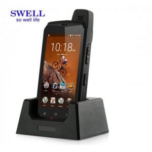 Sotilaallinen Kestävä PDA kämmenmikrot IP68 vankka puhelin Android Tulostimen PDA