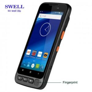NFC PTT dual sim-kortin vedenpitävä puhelin 4000mAh akku