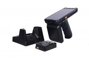 V710 UHF Portable Uhf Rfid Reader With 2D Laser Scanner Rfid Products