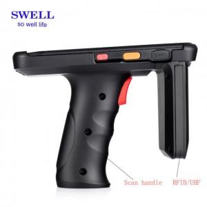 UHF Scanner Shock-Resistant Phone Long Range Passive Rfid Reader 8-10M
