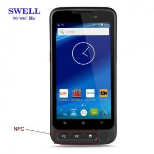 Handheld kannettava tietokone 2D Motorola viivakoodinlukija